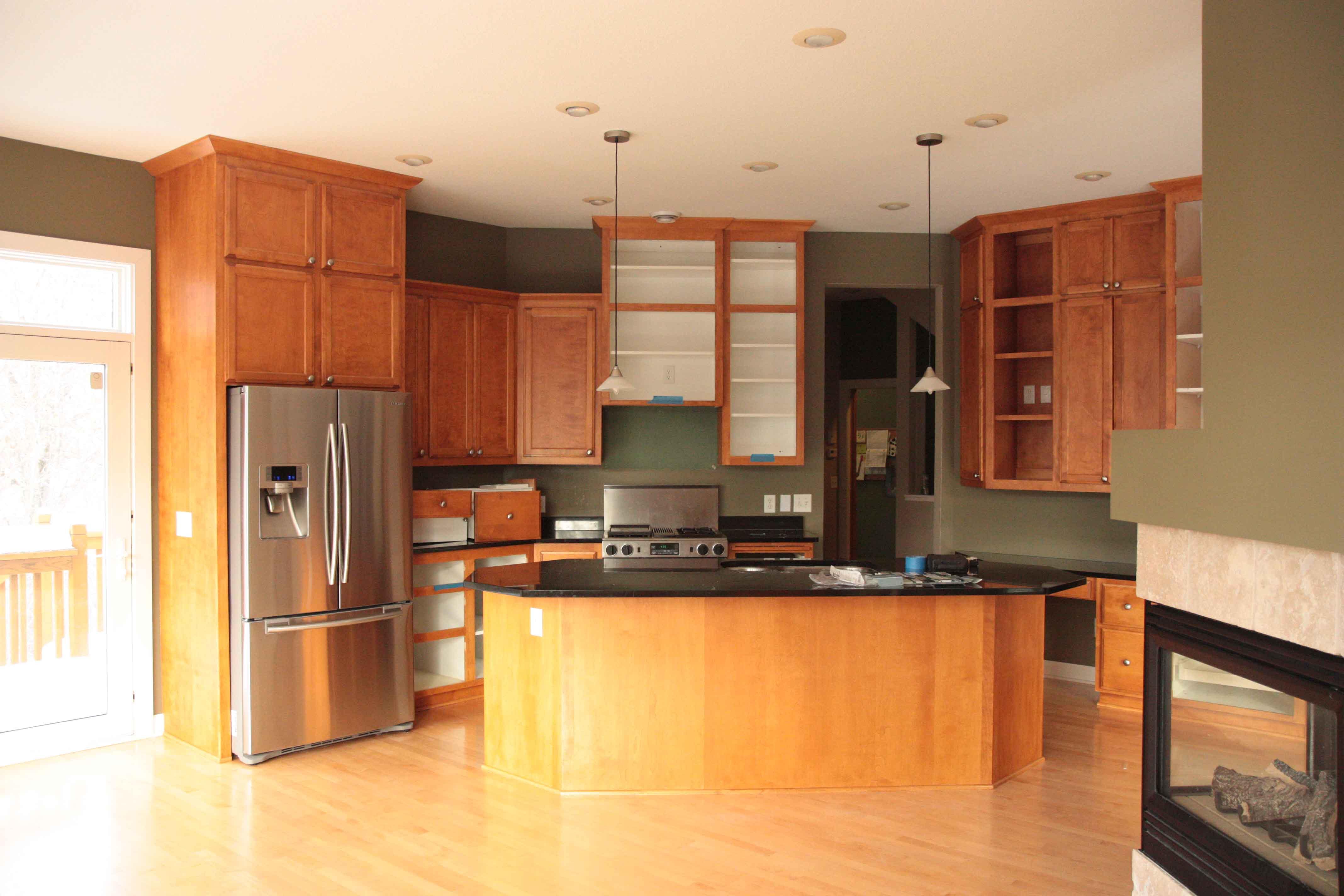 Garden Web Kitchen Reveal High End Cooks Kitchen Cherry Miele Maple